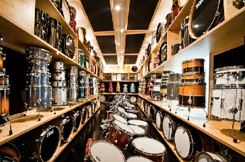 drumming showroom